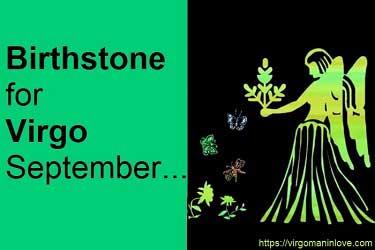 Birthstone for Virgo September