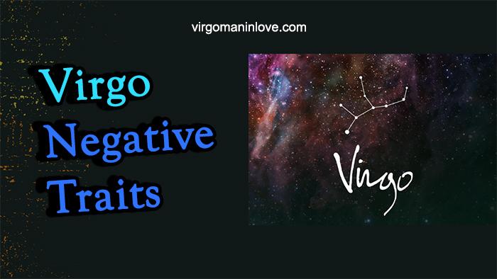Virgo Negative Traits